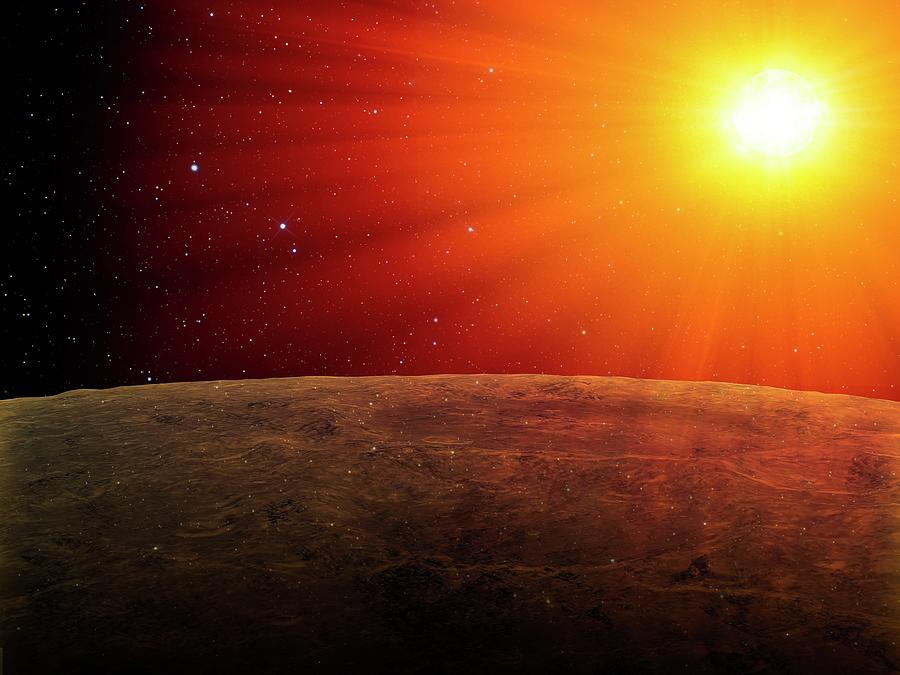 Alien Planet, Artwork Digital Art by Andrzej Wojcicki