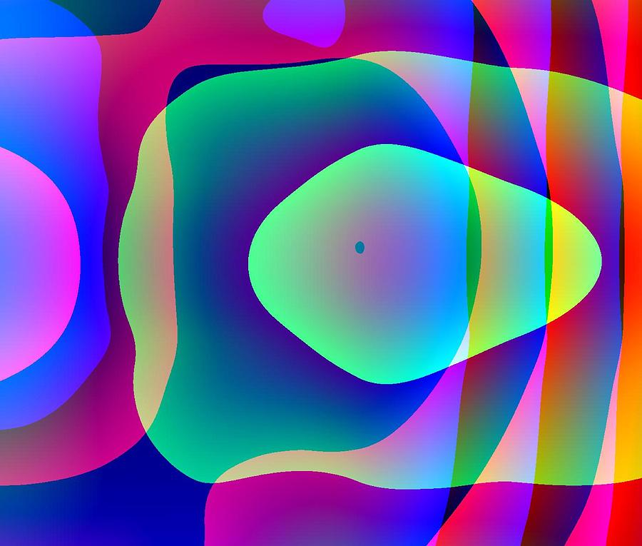 Abstract Digital Art - Alien Pod Person by Charles Ragsdale