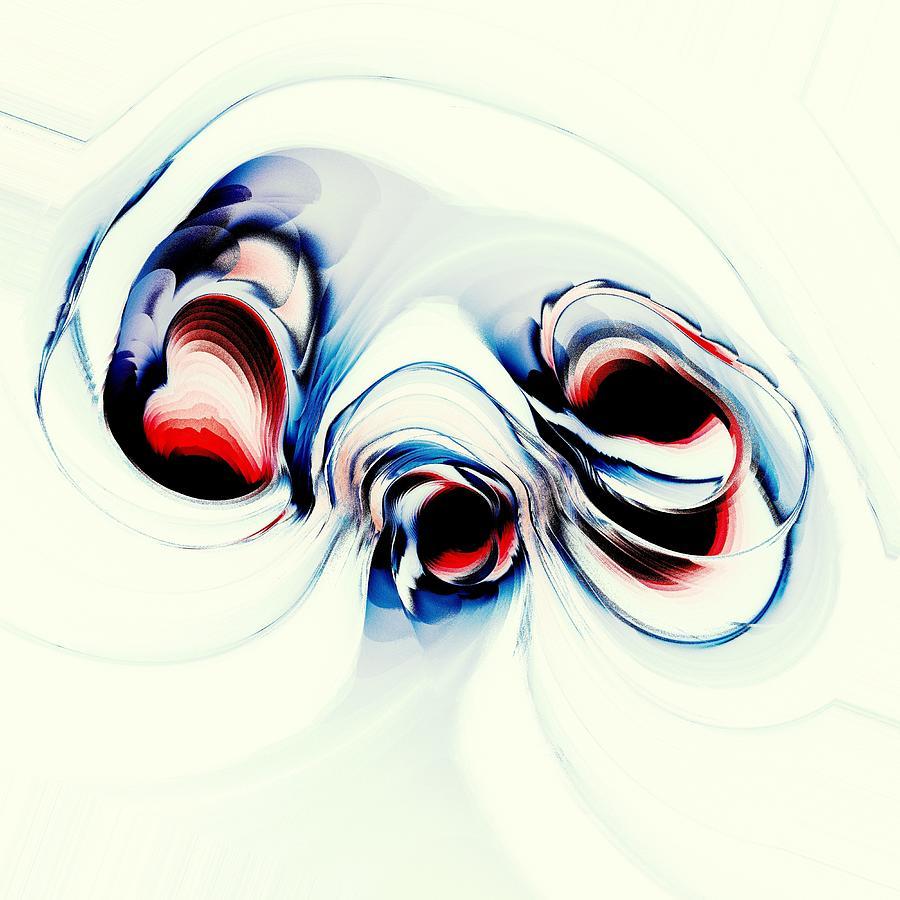 Mushroom Digital Art - Alien Puppy by Anastasiya Malakhova
