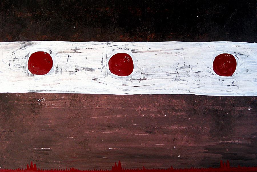 Painting Painting - Alignment Original Painting by Sol Luckman