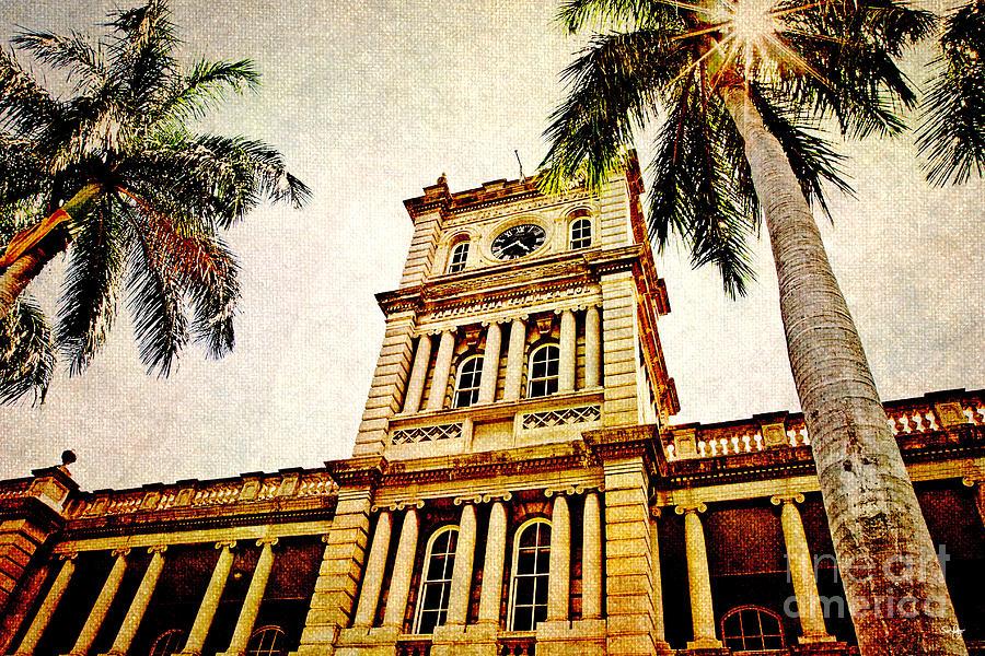 Hawaii Supreme Court Photograph - Aliiolani Hale by Scott Pellegrin
