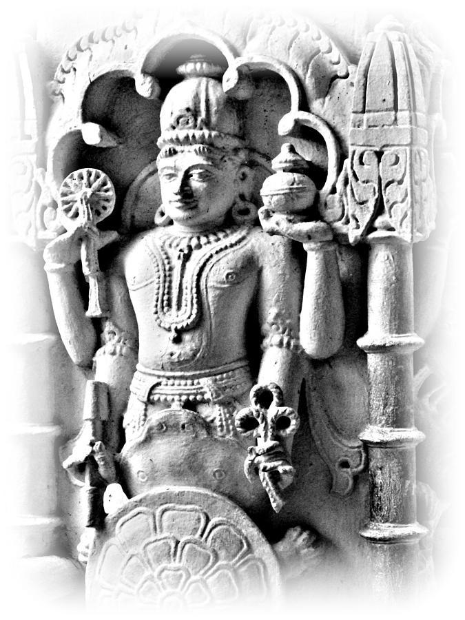 Vertical Photograph - Alive Statues.. by Vinayak Patukale