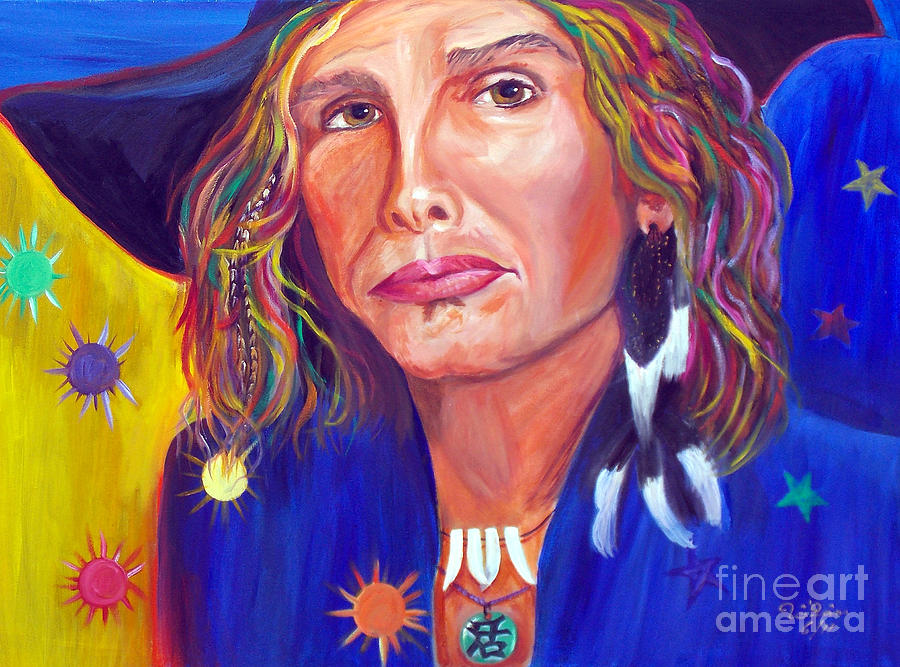 Steven Tyler Painting - Alive by To-Tam Gerwe