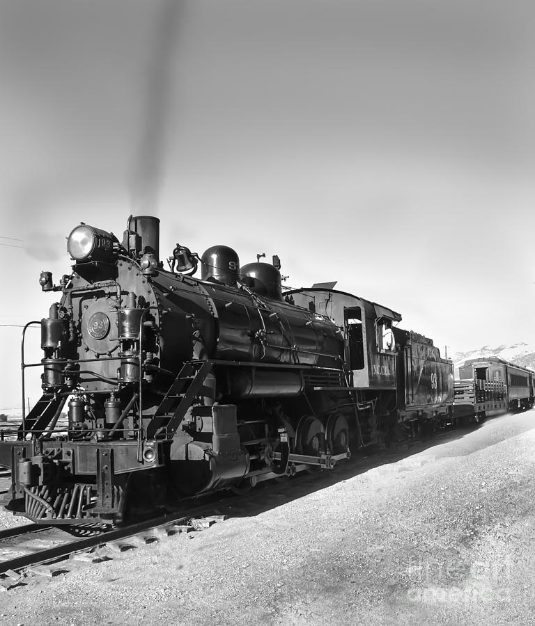 Train Photograph - All Aboard by Robert Bales
