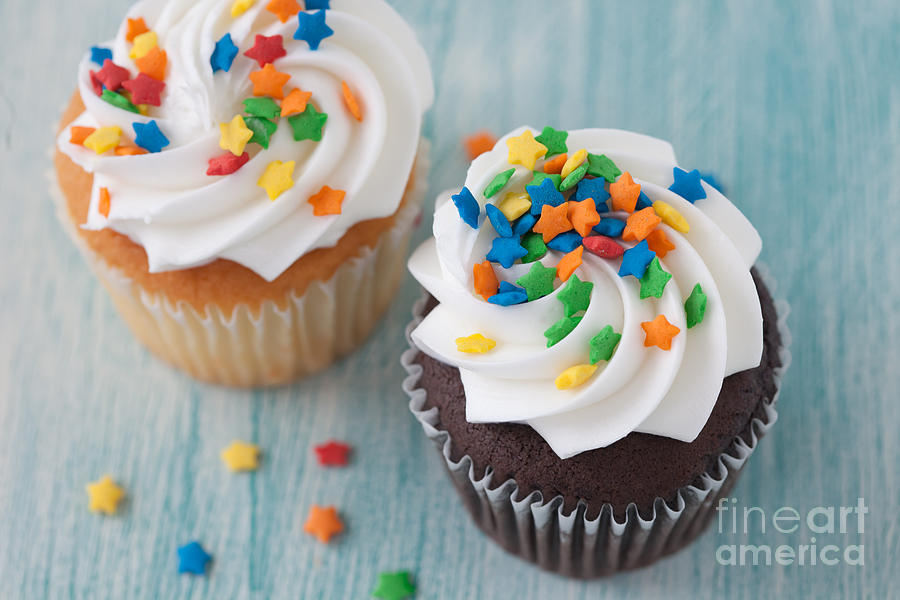 Cupcakes Photograph - All About The Sprinkles by Kay Pickens