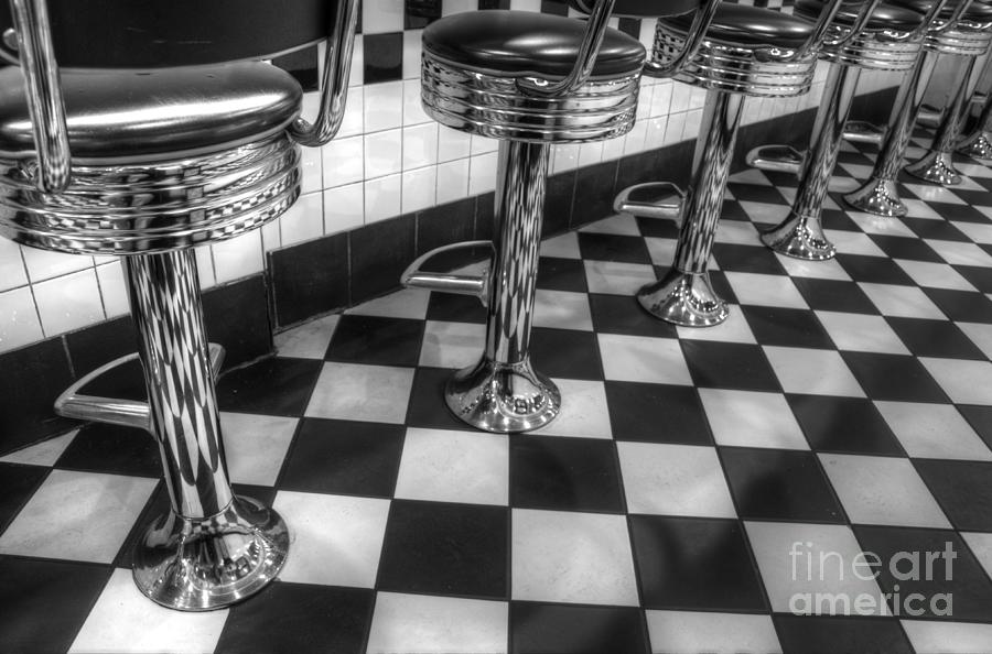 Diner Photograph - All American Diner by Bob Christopher