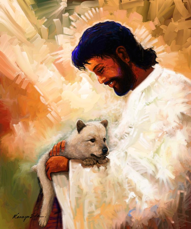 All Dogs Go To Heaven Digital Art By Kanayo Ede