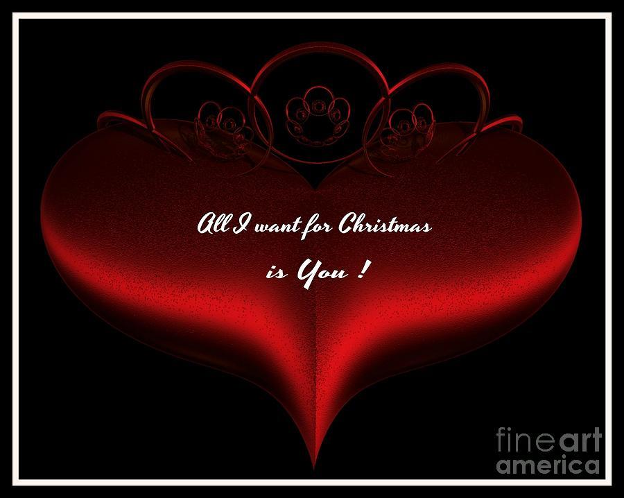 christmas photograph all i want for christmas is you by gail matthews - I Want You For Christmas