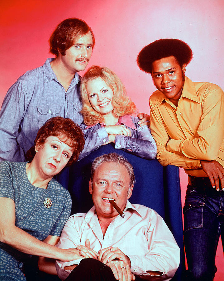 All In The Family Photograph - All In The Family  by Silver Screen