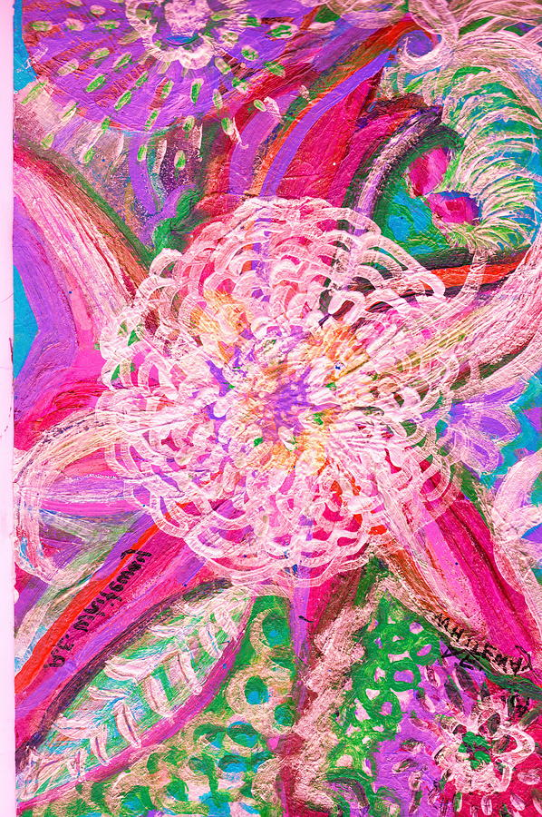 Bright Painting - All Is Bright by Anne-Elizabeth Whiteway