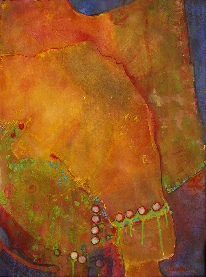 Abstract Painting - All Life Is An Experiment 5 by Blenda Studio