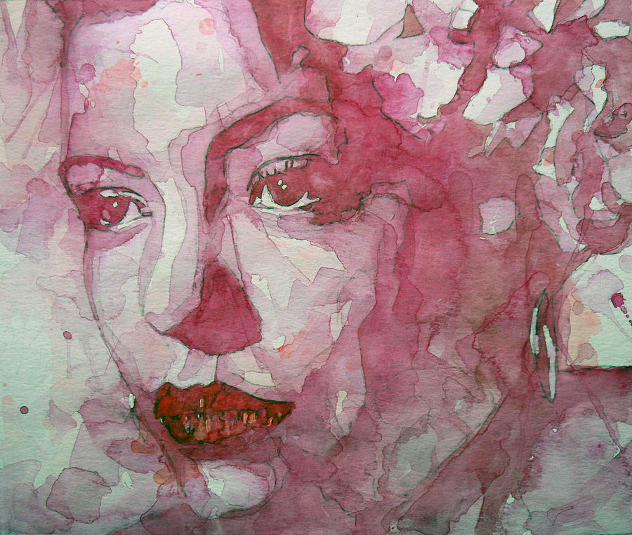 Billie Holiday Painting - All Of Me by Paul Lovering