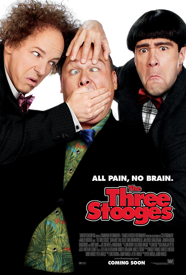 The Three Stooges Photograph - All Pain No Brain by The Three Stooges Movie