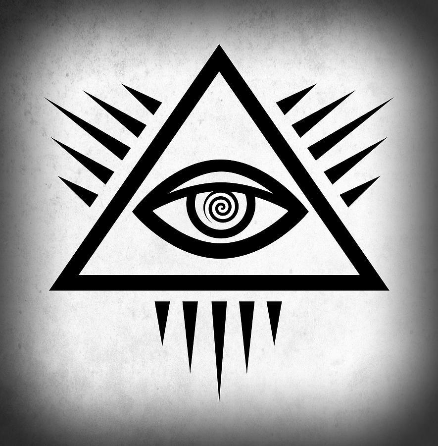 All Seeing Eye Digital Art By Daniel Hagerman