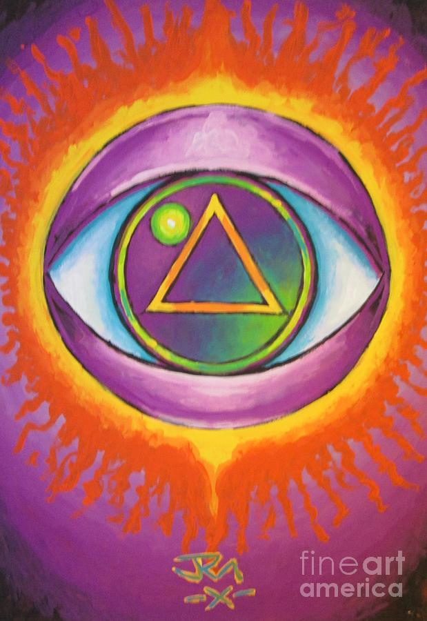 All Seeing Eye Painting by Jedidiah Morley