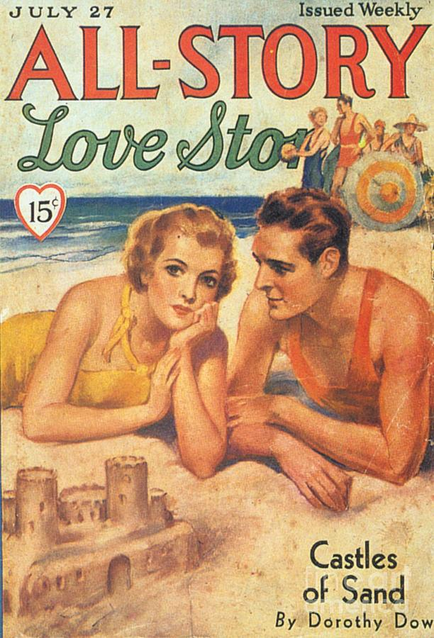 1920�s Drawing - All-story 1920s Usa Holidays Love by The Advertising Archives