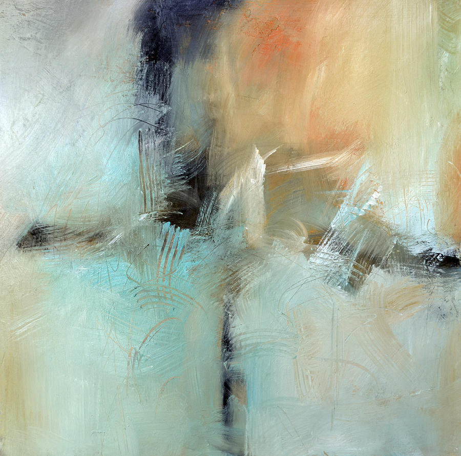 Abstract Painting - All That Echoes by Filomena Booth