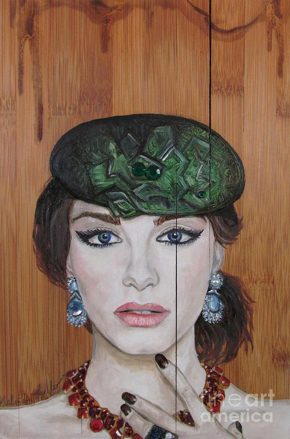 Oil Painting Painting - All That Girls Love 2 by Malinda  Prudhomme