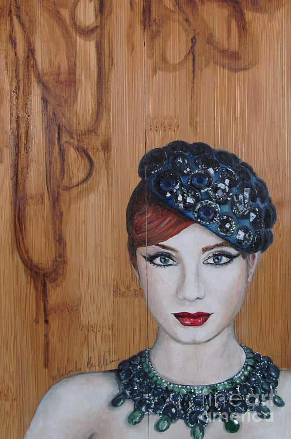 Oil Painting Painting - All That Girls Love 3 by Malinda  Prudhomme