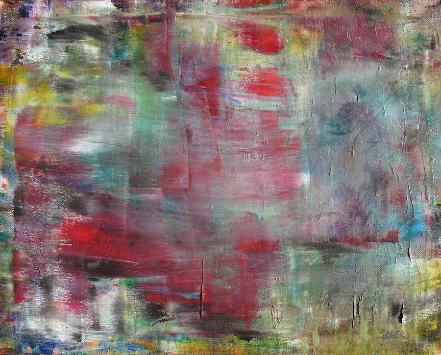 Abstract Painting - All That Is Left by Kathy Stiber