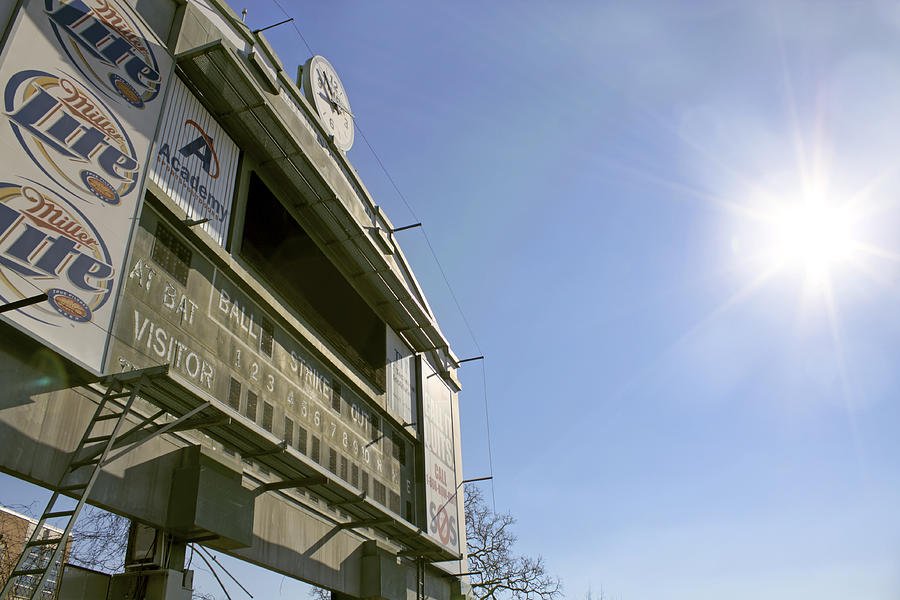Baseball Photograph - All That Remains Of Ray Winder Field by Jason Politte