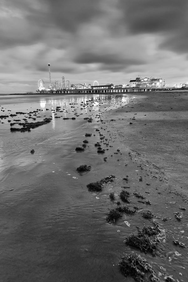 Galveston Photograph - All The Roads Lead To The Pleasure Pier by Silvio Ligutti