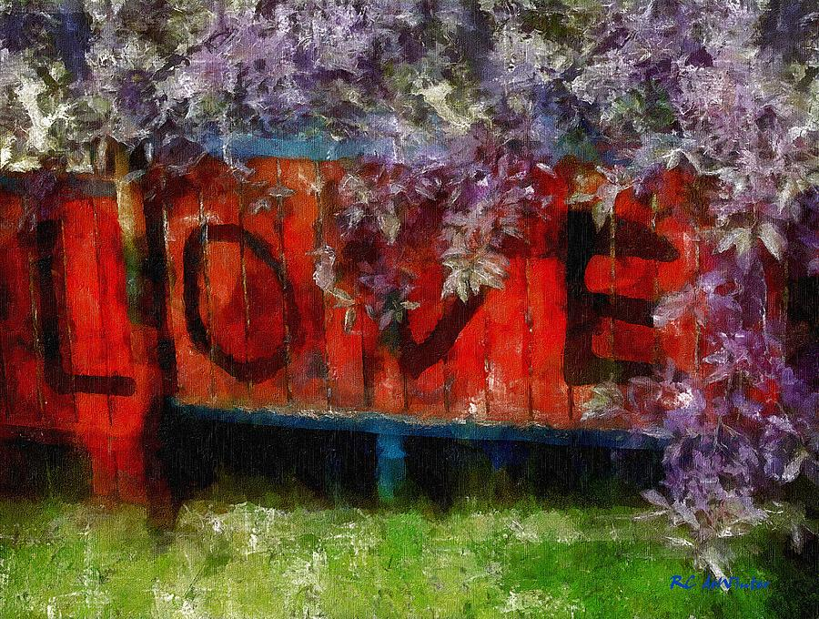 Painting - All You Need Is... by RC deWinter