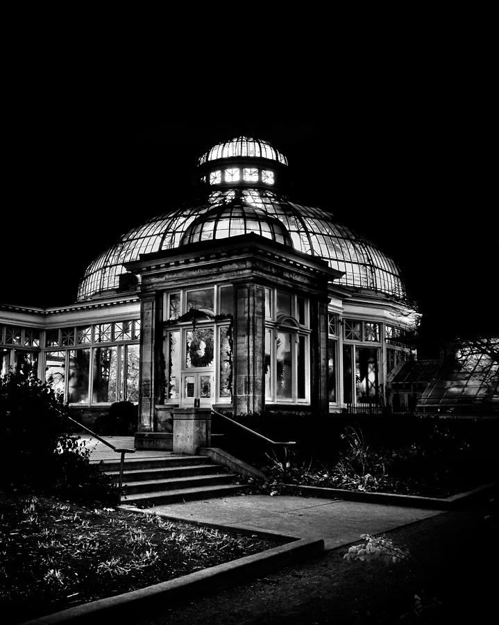 Toronto Photograph - Allan Gardens Conservatory Palm House Toronto Canada by Brian Carson