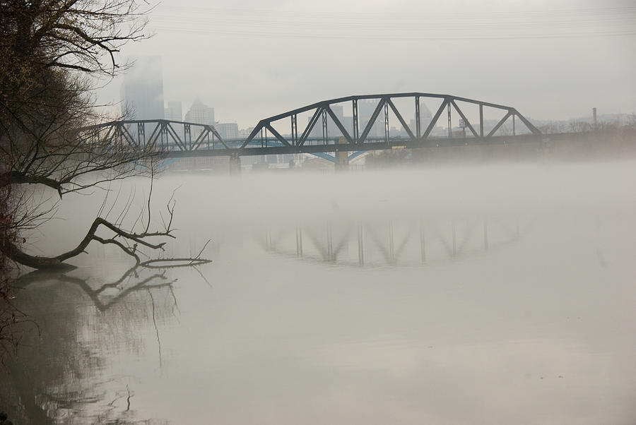 Landscape Photograph - Allegheny In The Mist by Jay Ressler