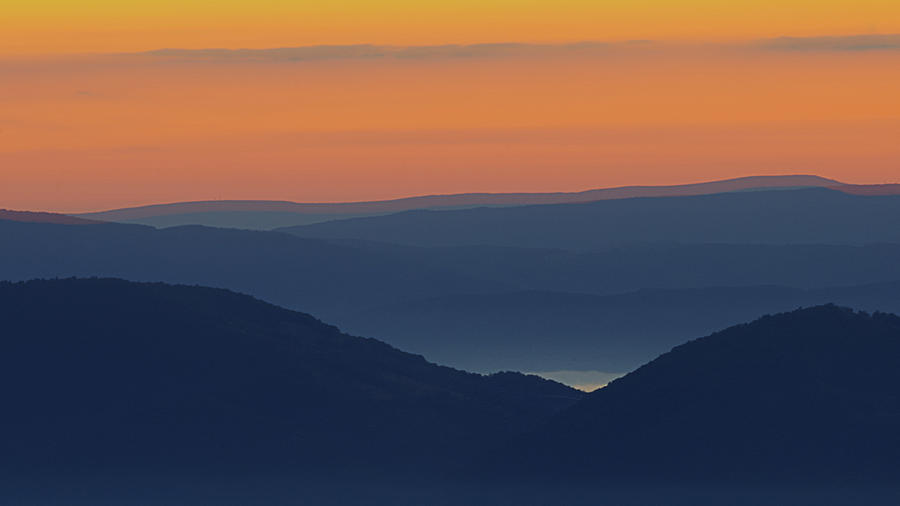 Allegheny Mountain Morning 2 by Michael Donahue