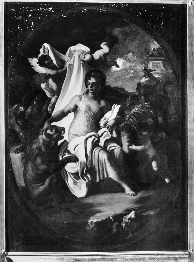 18th Century Painting - Allegory Of Africa by Granger