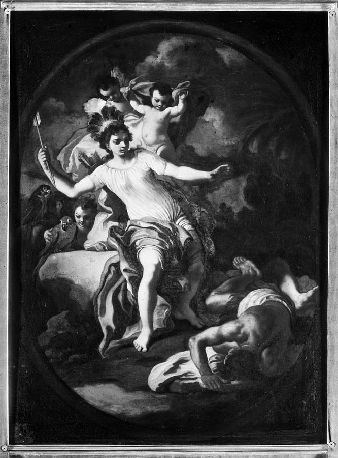 18th Century Painting - Allegory Of America by Granger
