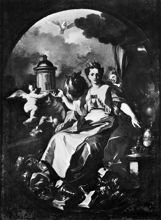 18th Century Painting - Allegory Of Europe by Granger