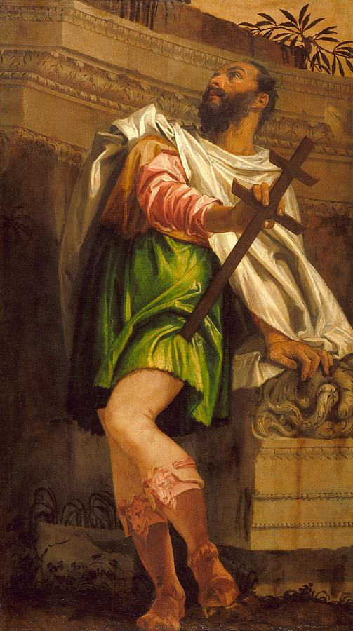 Cinquecento Painting - Allegory Of Navigation With A Cross-staff by Paolo Veronese