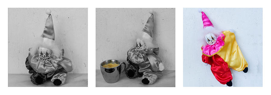 Clown Photograph - Allegory Of The Coffee Drinker by William Patrick