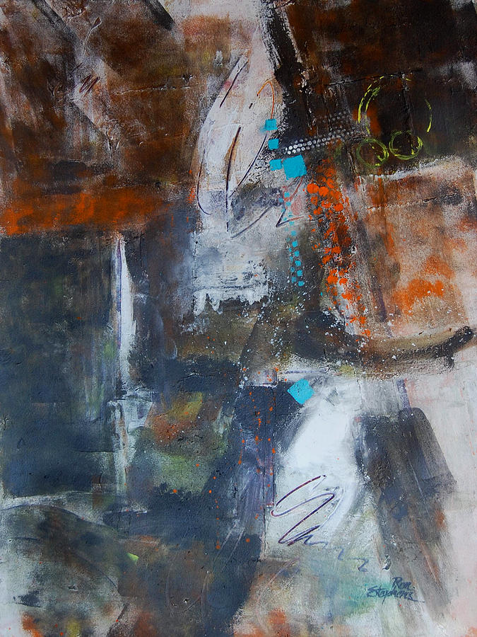 Abstract Painting - Allegory by Ron Stephens