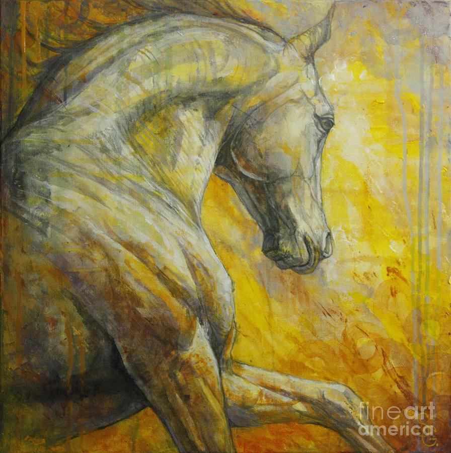 Allegro painting by silvana gabudean dobre Fine art america