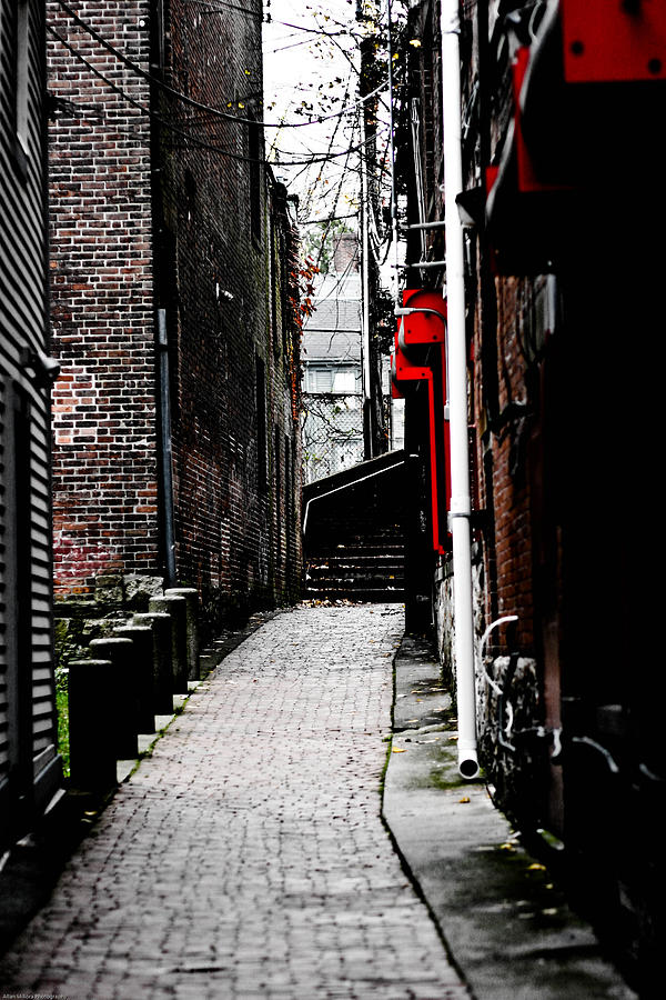 Alley Photograph by Allan Millora