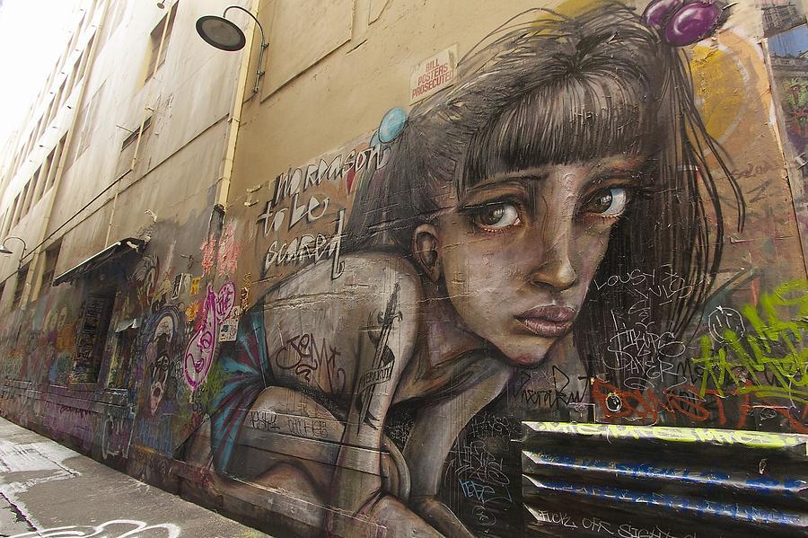 Australia Photograph - Alley Graffiti #2 by Stuart Litoff