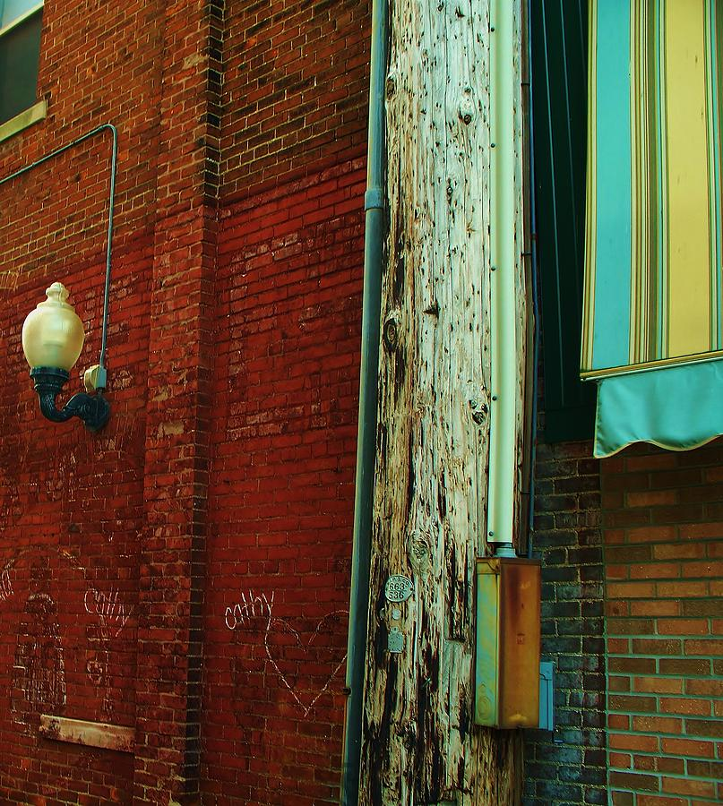 Colorful Photograph - Alley by Steven Stutz