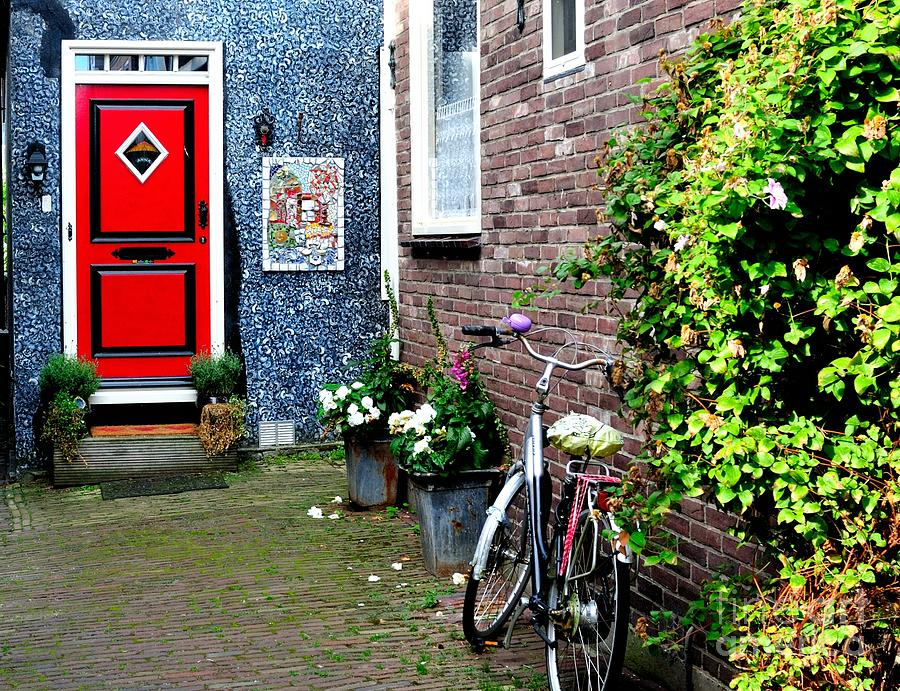 Colorful Alleyway In Dutch Village Photograph