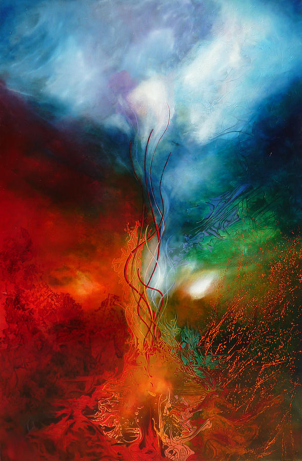 Abstract Painting - Alliance by Bielen Andre