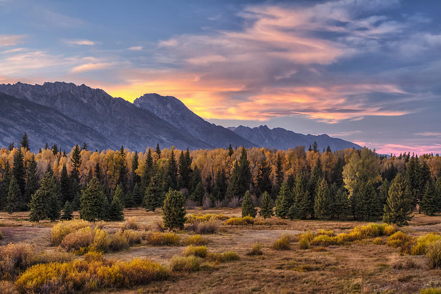 Grand Teton National Park Photograph - Alluring Conclusion by Mark Kiver