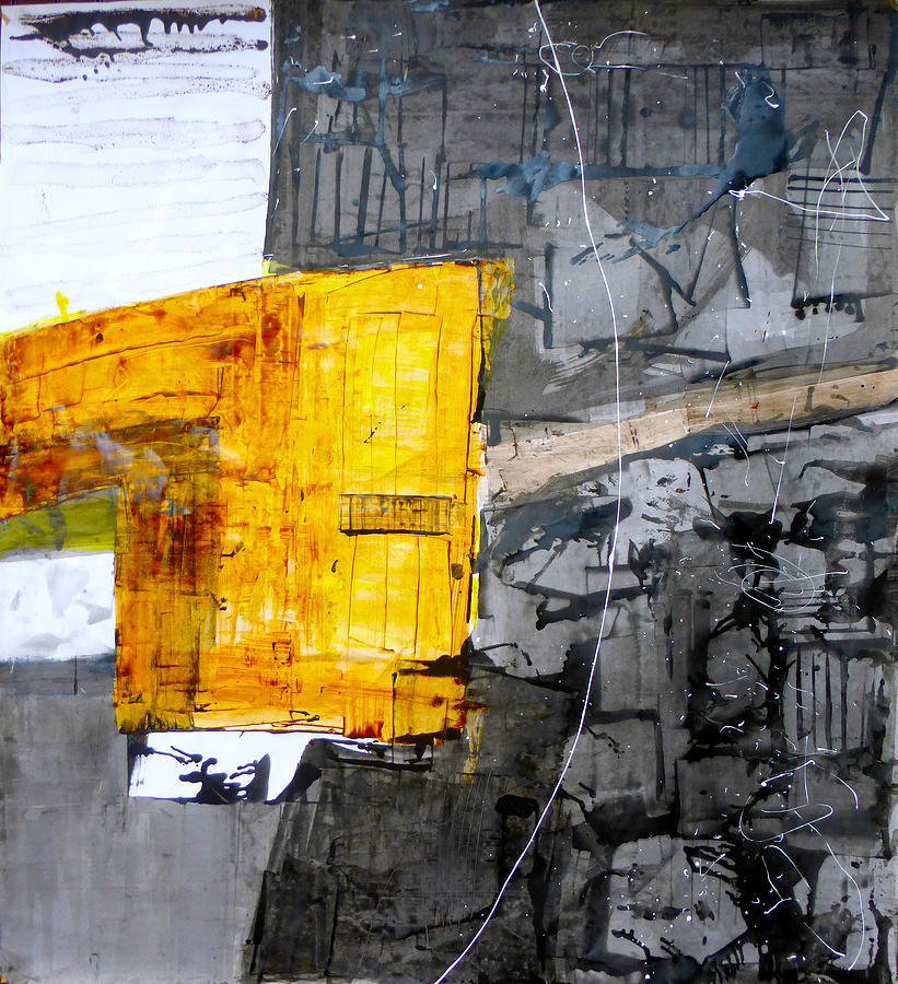 Abstract Painting - Almc9 by Mark Fearn