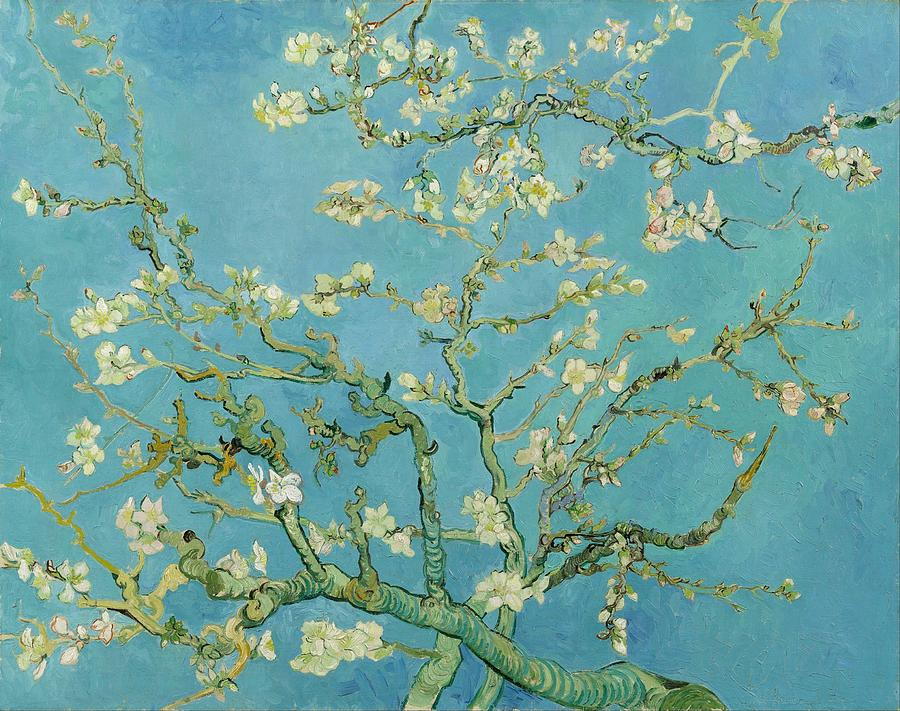 1890 Painting - Almond Blossom by Vincent van Gogh