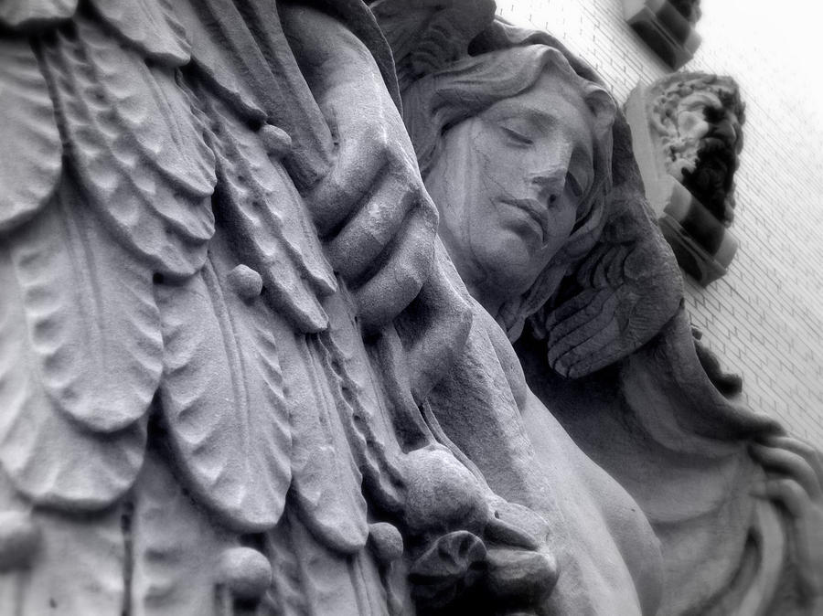 Stone Photograph - Almost Angel by Jhoy E Meade