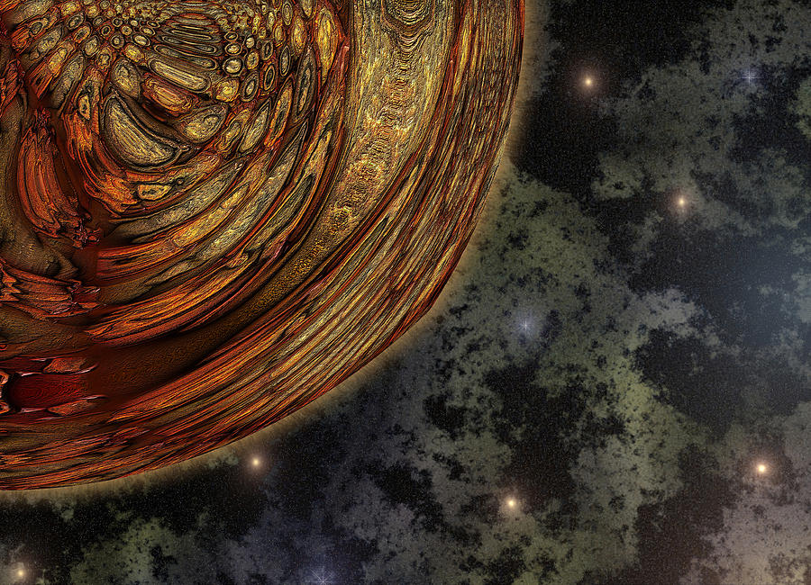 almost Cosmos Digital Art - Almost Cosmos by Wendy J St Christopher