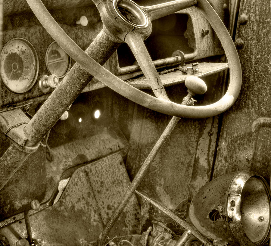 Sepia Photograph - Almost Gone Sepia by Thomas Young