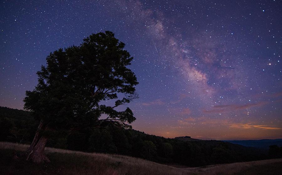 Milky Way Photograph - Almost Heaven by Sean Mathews