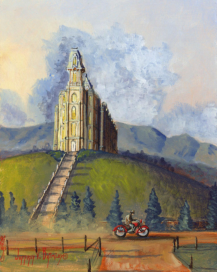 Jeff Painting - Almost Home by Jeff Brimley